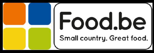 food.be logo met link naar de site